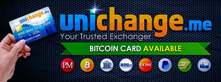 Unichange.me - your Unique, Universal, Uniting exchange service!