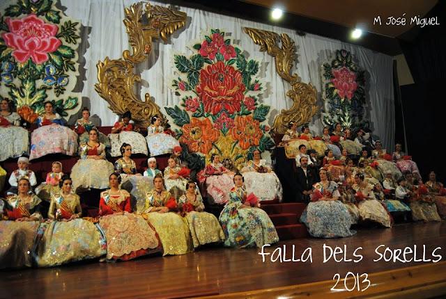 Presentación Falla dels Sorells 2013