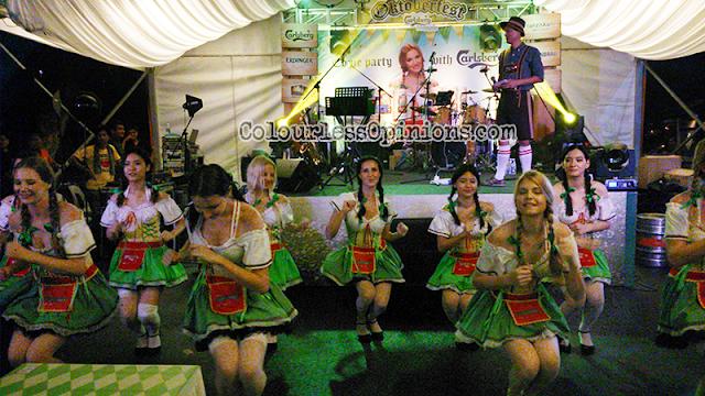 Oktoberfest 2014 Malaysia Carlsberg Saujana chicken dance