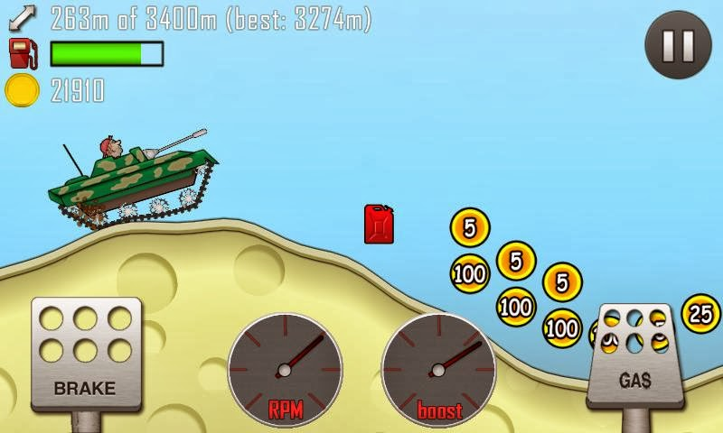 Hill Climb Racing APK Oyun İndir resimi 1