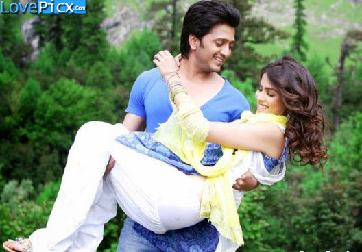 Couple Hug Kiss Ritesh Genelia Love Wallpapers