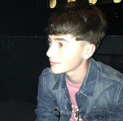 Greyson Chance after his show at the Smart Music Launch