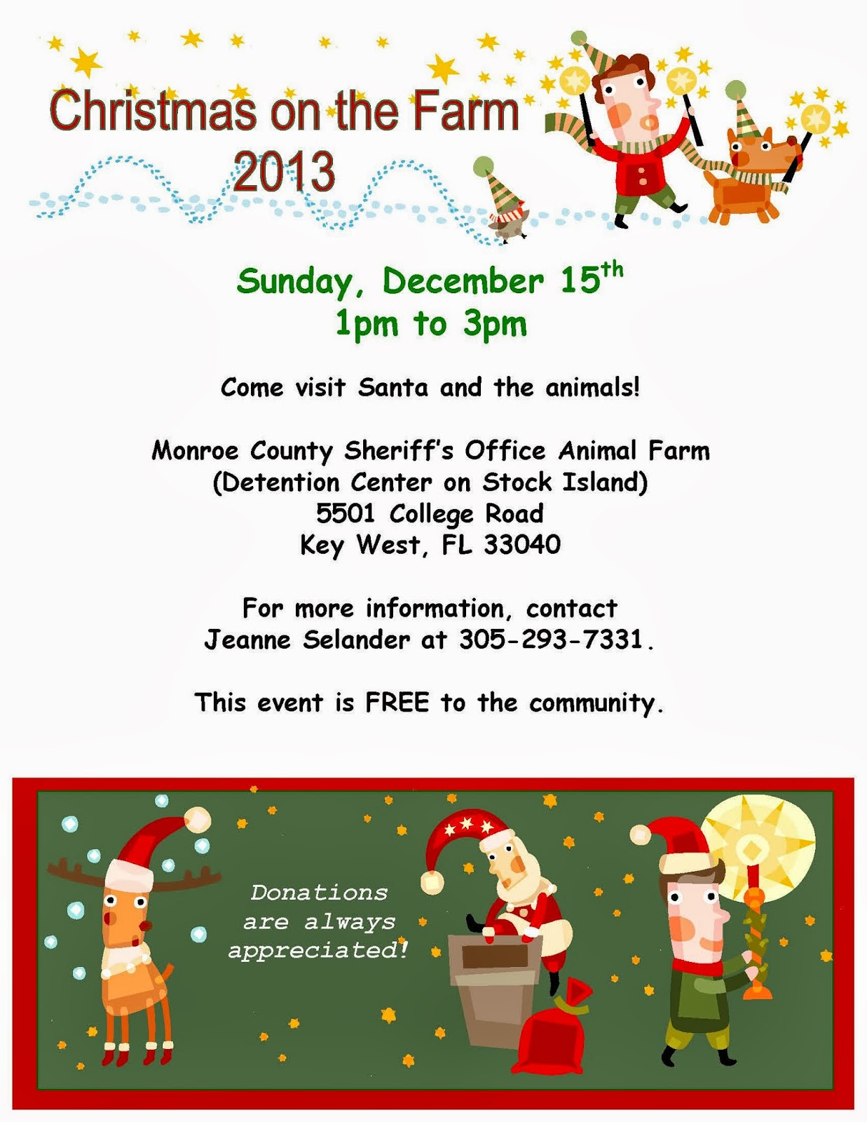 Christmas at the Animal Farm! | Monroe County Sheriff\'s Office