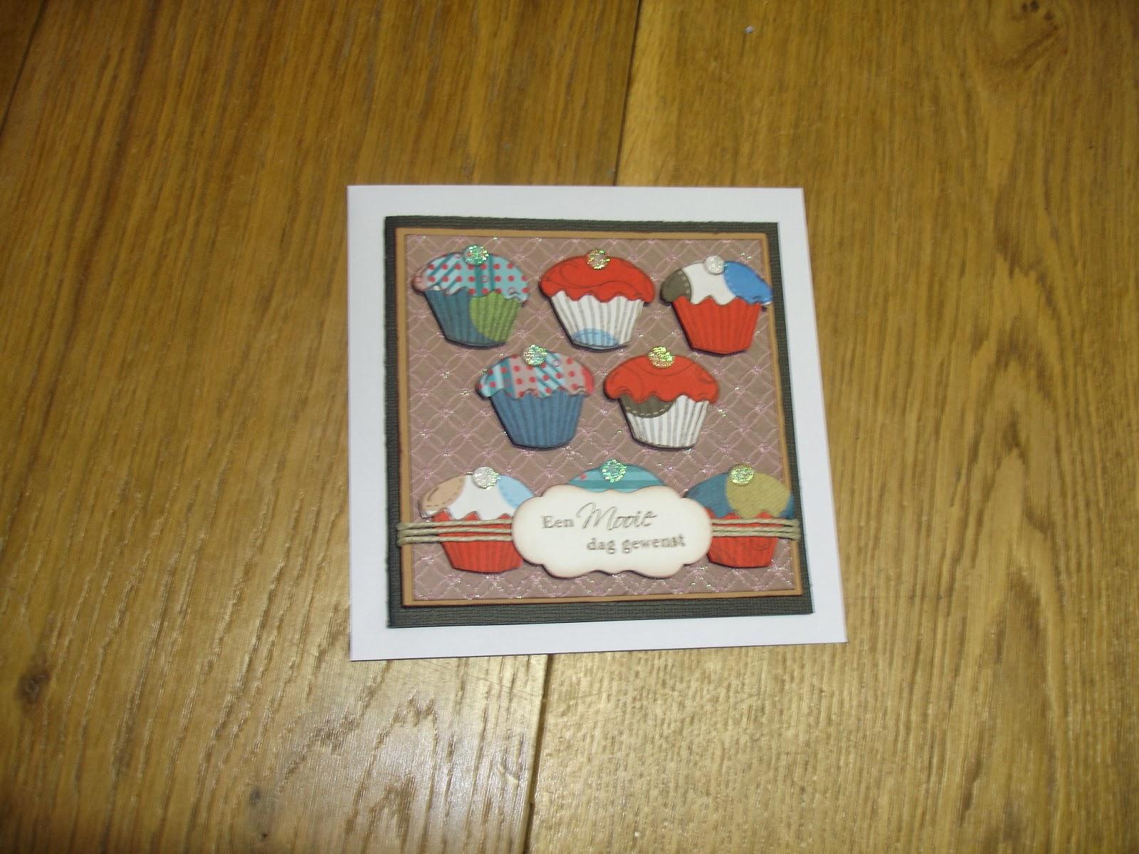 Ben Creatief In Vele Dingen Een Cupcake Verjaardag