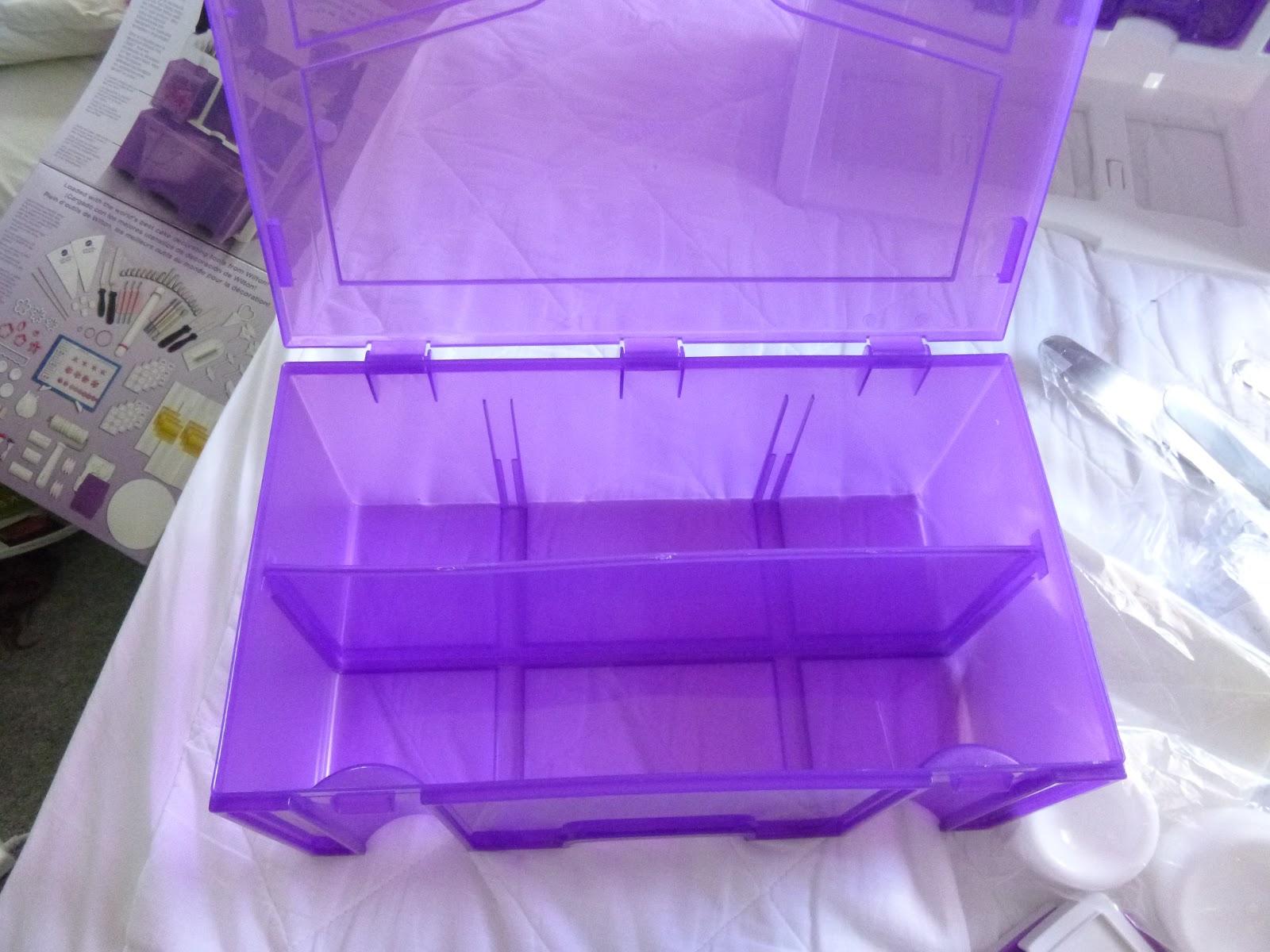 Wilton Ultimate Professional Cake Decorating Set, Purple ...