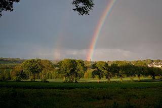 Rainbow in Cornwall