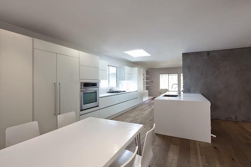 Marzua vivienda minimalista en california por dan brunn for Oficinas minimalistas interiores