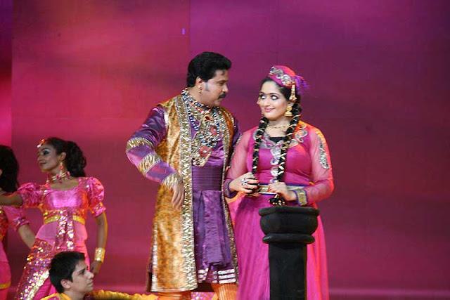 Kavya Madhavan and Dileep