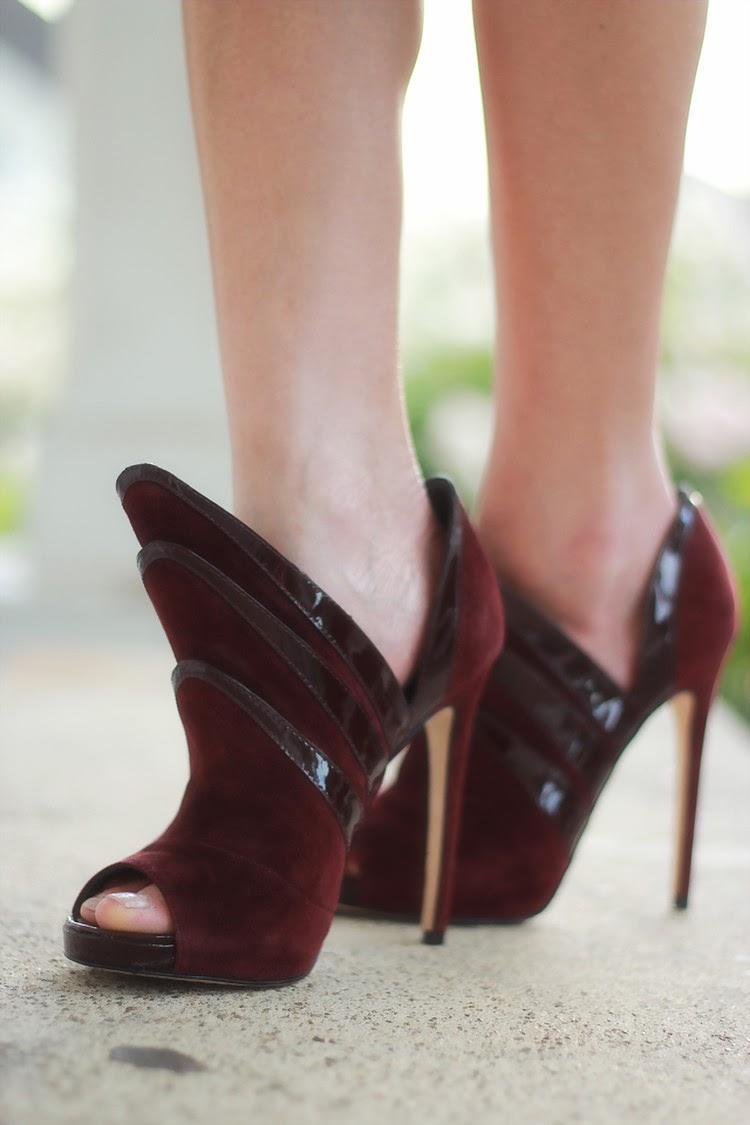 alejandro ingelmo origami burgundy heels