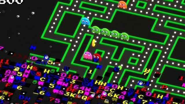 Namco celebra 35 años de Pac-Man inspirándose en el error de la pantalla 256