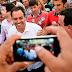 Popularidade em alta - Paulo Câmara esbanja carisma em romaria de São Joaquim do Monte