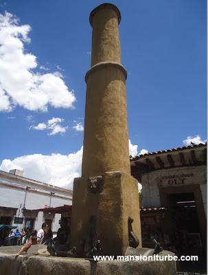 La Fuente del Torito en Pátzcuaro