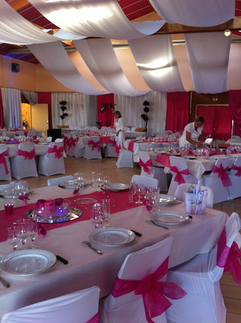 Decoration-Pour-Salle-Mariage-Fete-Reception: Photo Decoration