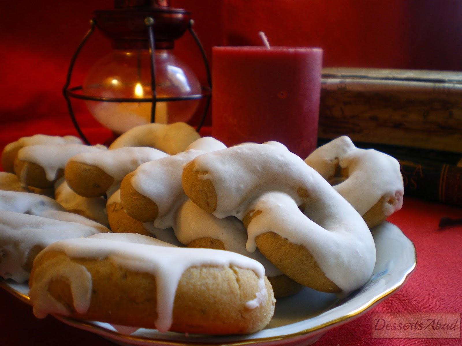 Rosquillas de anís glaseadas