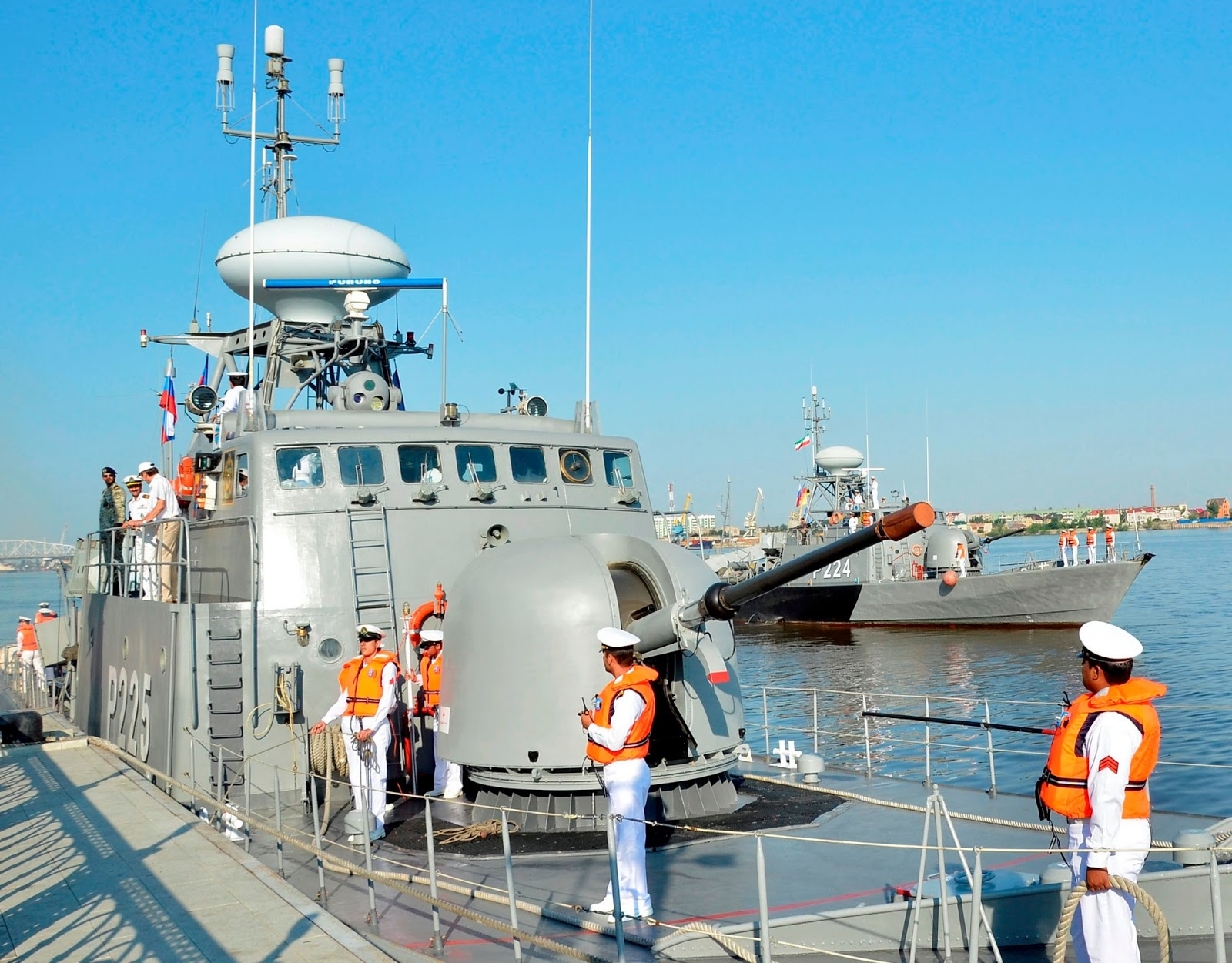 Astrakhan Russia  City new picture : ... missile boats visit Russian port Astrakhan | Global Military Review