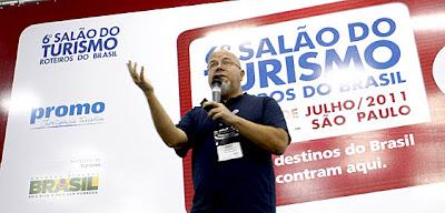 Ricardo Freire no Salão dom Turismo