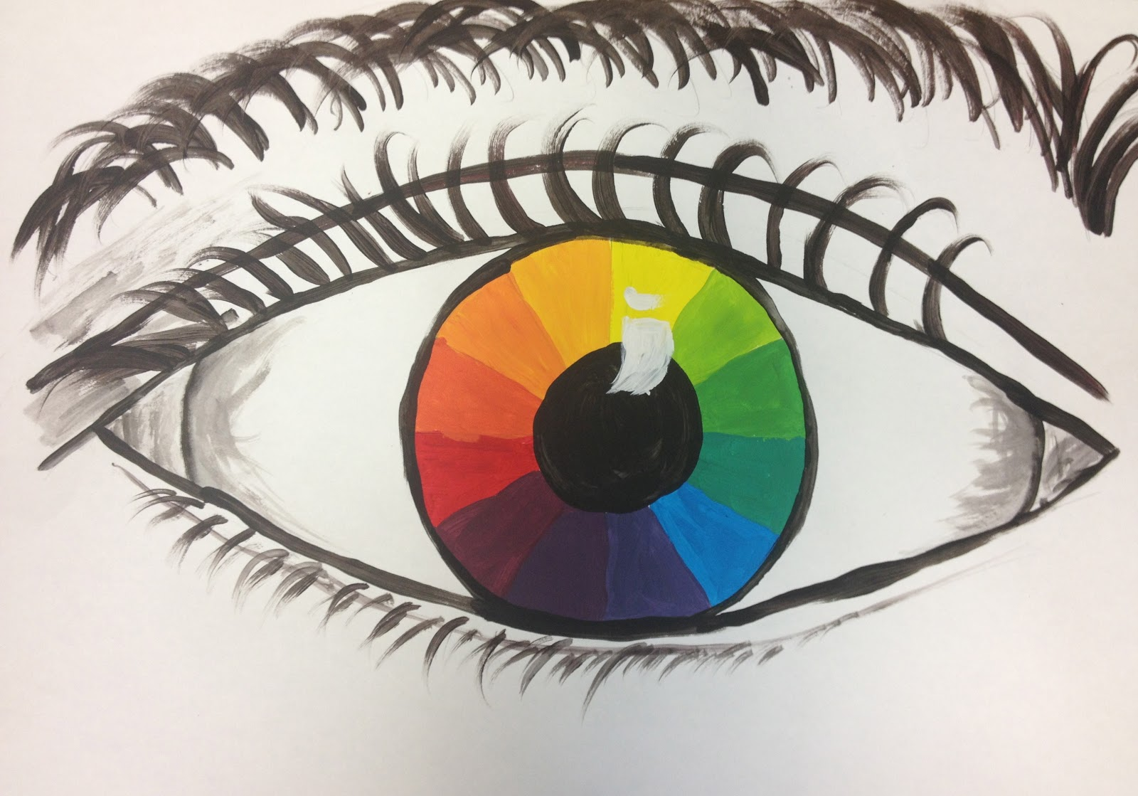 Color Wheel Eyes