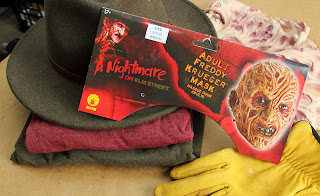 Freddy Krueger Project materials