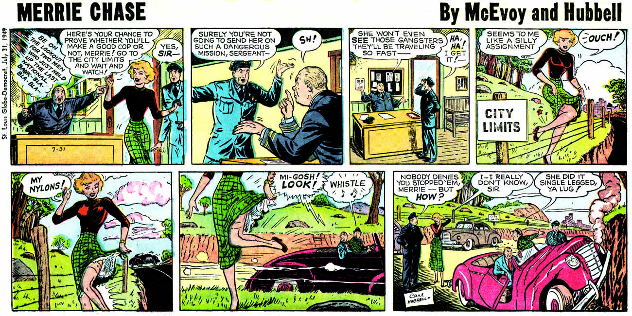 cop strip Comic