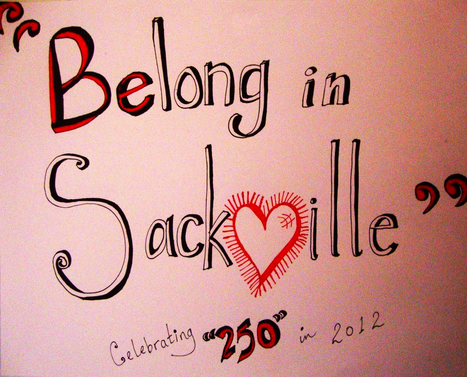 Sackville is home ...