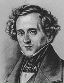 Felix Mendelssohn (Hamburgo, 3 de febrero de 1809 - Leipzig, 4 de noviembre de 1847)