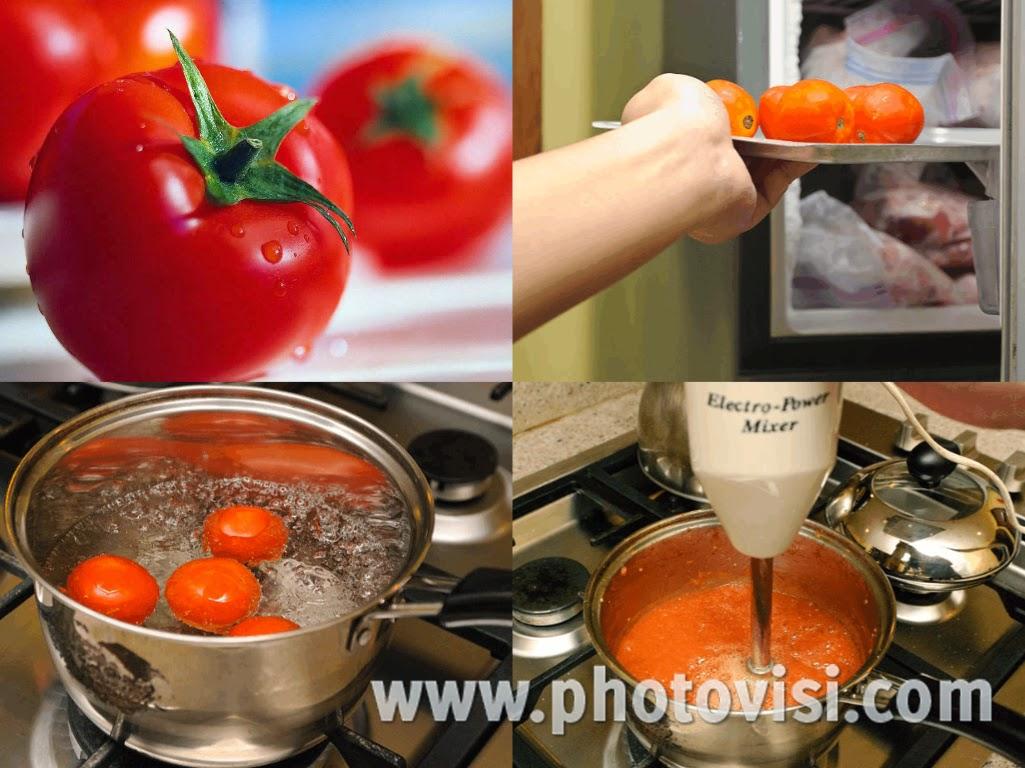 إليك سيدتي 3 طرق لتجميد الطماطم بطريقة سهلة جدا