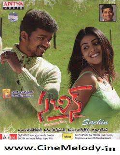 Sachin Telugu Mp3 Songs Free  Download  2009