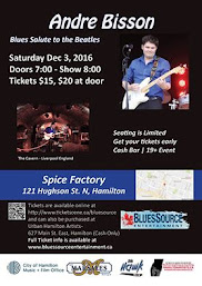 BluesSource Entertainment Presents Andre Bisson: A Blues Salute to the Beatles