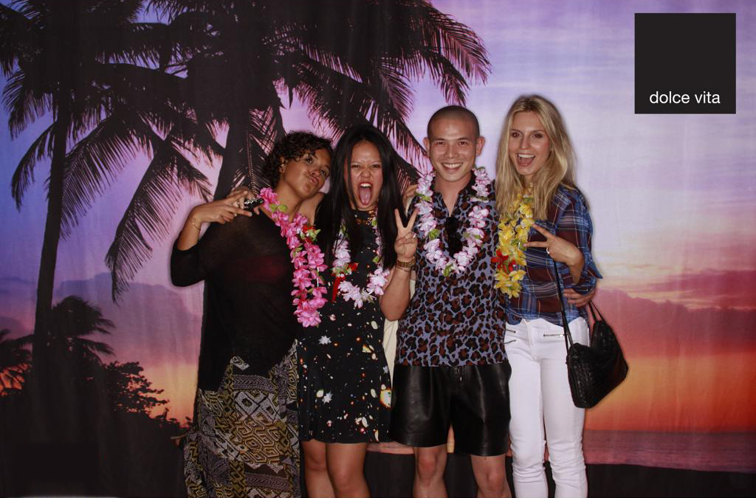 Dolce Vita Party Photo Booth Tiki Hawaii