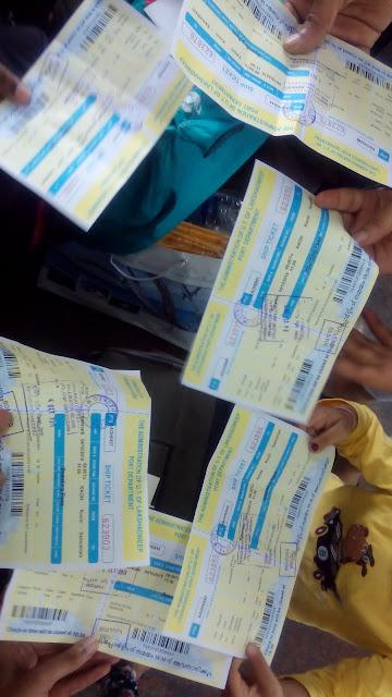 M.V. Kavaretti Boarding Pass