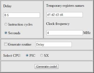 delay code