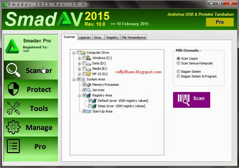 Download Smadav 2015 Terbaru 10.0 Gratis