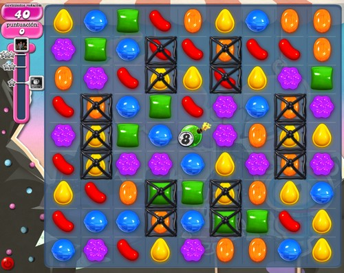 Nivel 98 de Candy Crush Saga