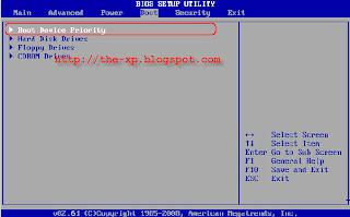 Cara Mengatur Booting BIOS dari USB Flashdisk Atau CDROM Cara Booting Komputer Dari Bootable CD atau DVD