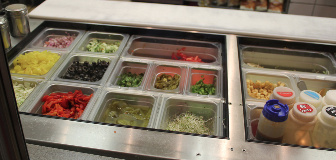 Subway Menu Toppings