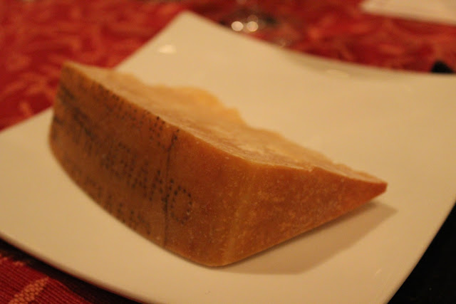 Wedge of Parmigiano-Reggiano