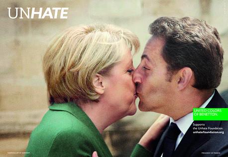 Merkel-sarkozy-campaña-benetton
