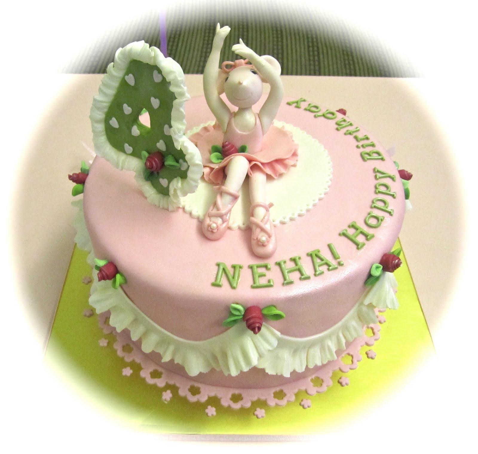 angelina ballerina cakes