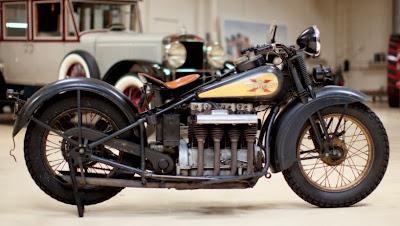 1931 Henderson KJ Police Special Motorcycle