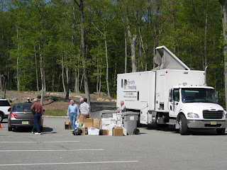 2011 Security Shredding Event Big Kinnelon Hit! Thank You.
