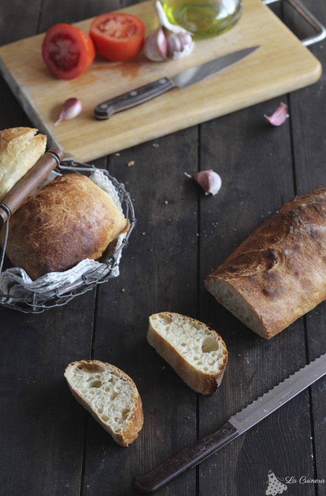 pan de chapata en casa