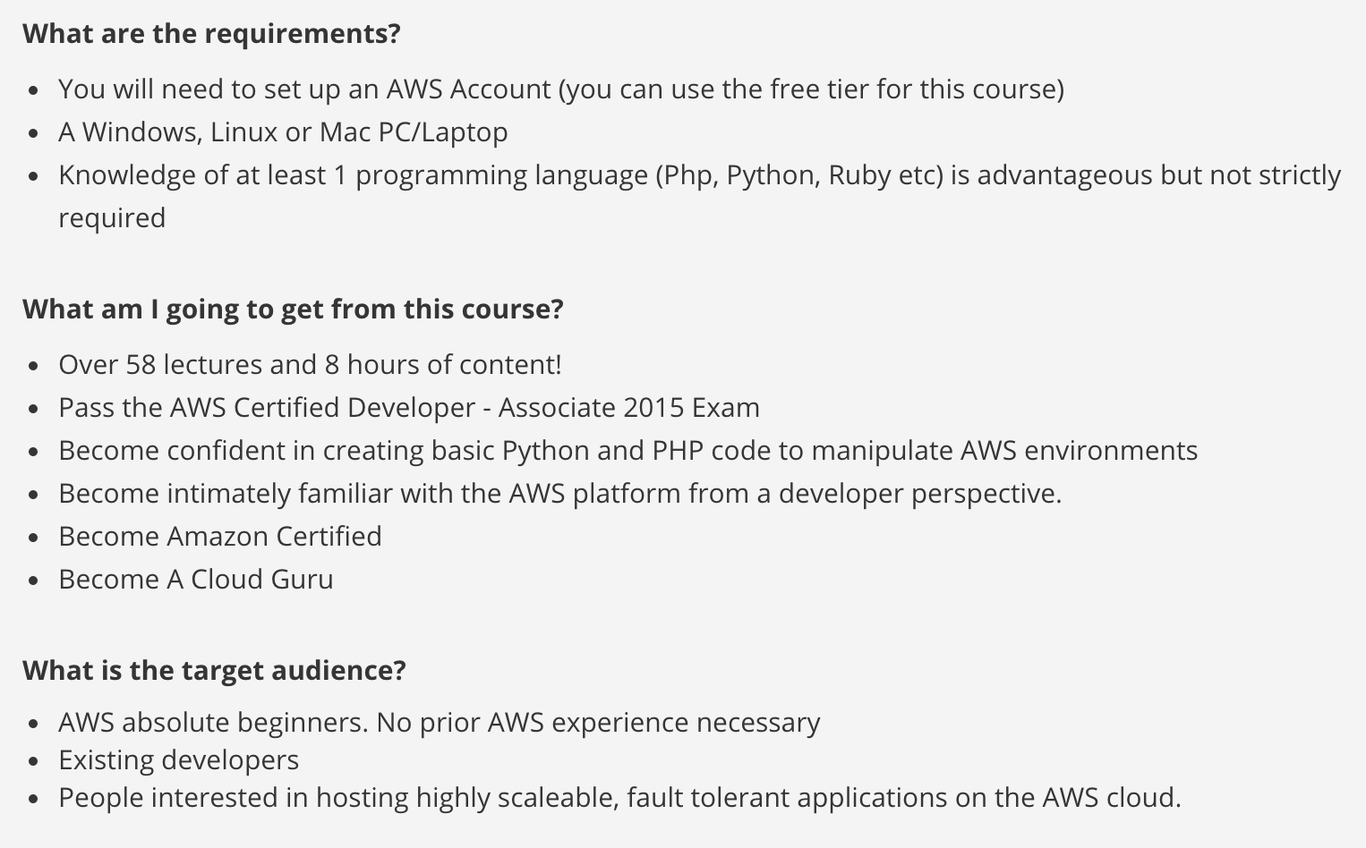 Aws certification guides aws certified sysops administrator udemy xflitez Gallery