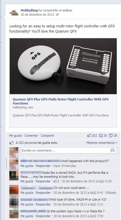 quanum QFX en facebook