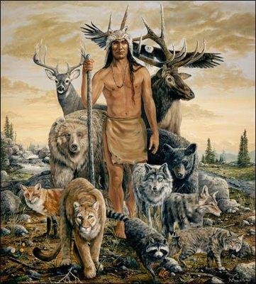 La vida de los Nativos Americanos Animales de poder