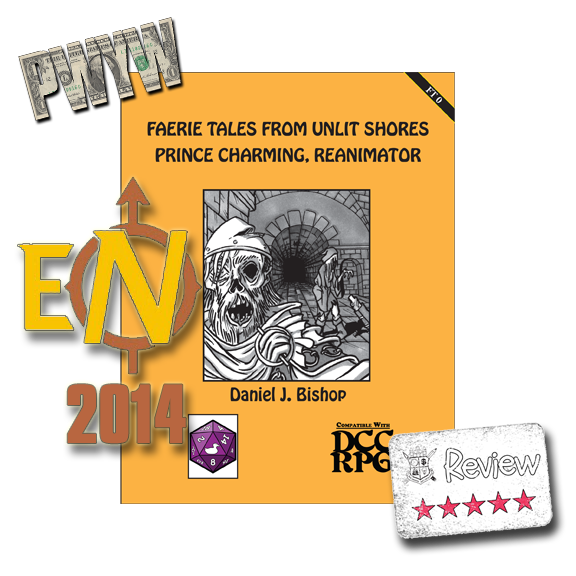 Frugal GM Review: Ennie-Nominated Faerie Tales from Unlit Shores Prince Charming, Reanimator