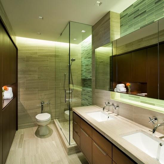 Desain kamar mandi minimalist