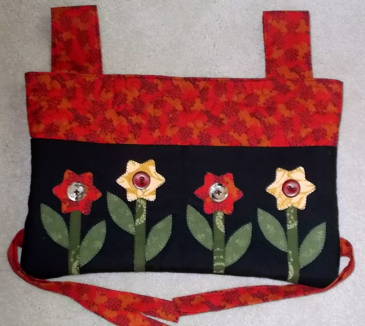 The Two Photos Above Show Front And Back Of Walker Bag I Just Made Her Found Free Pattern