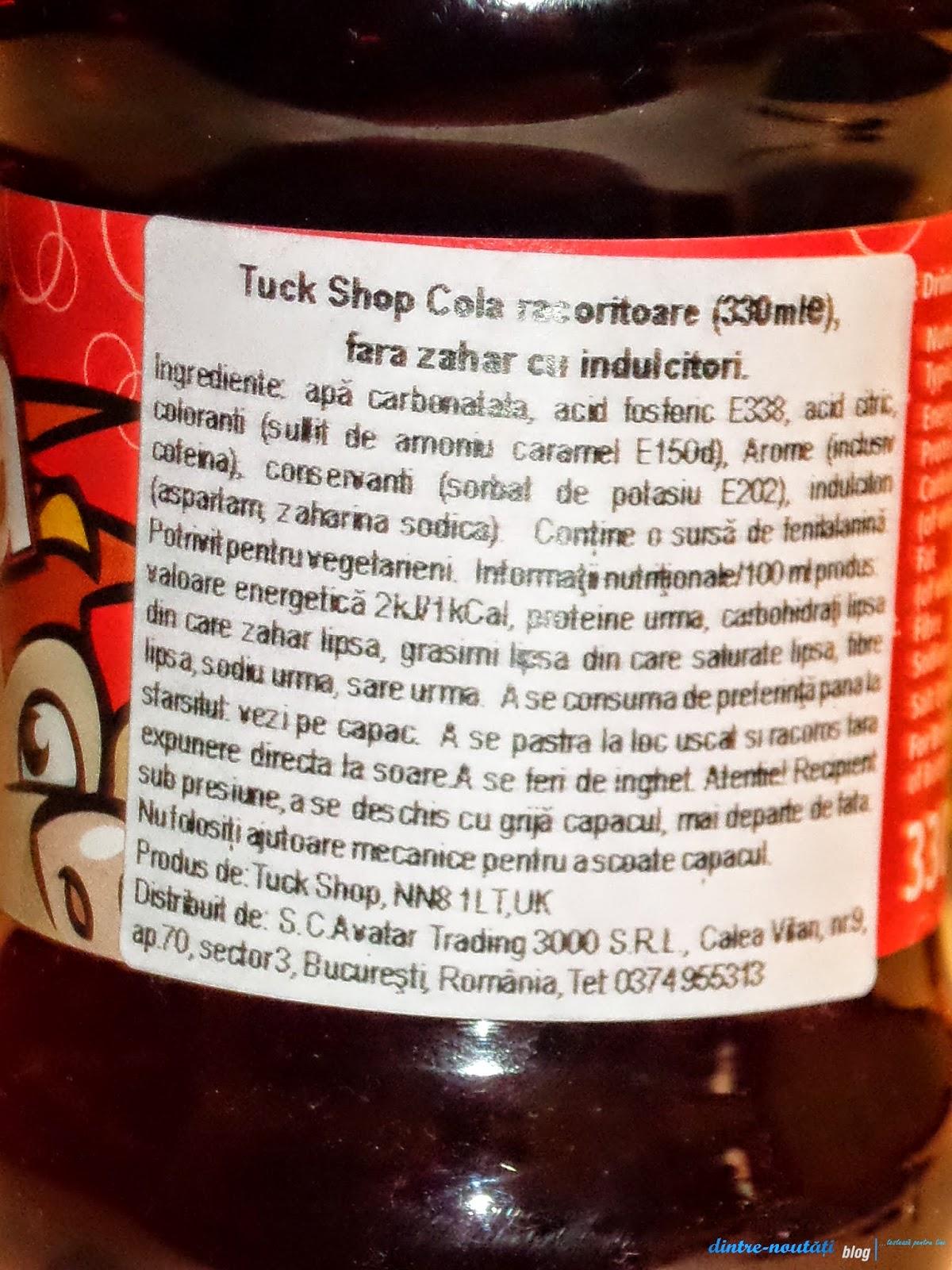 TRUCK SHOP - gama de sucuri carbogazoase pentru vegetarieni și copii din UK