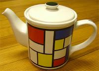 Mondrian teapot by CK