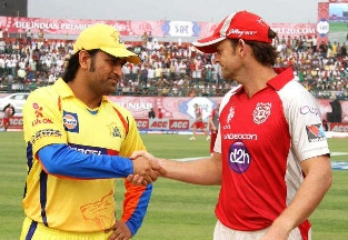 Kings XI Punjab vs Chennai Super Kings IPL 6 Match